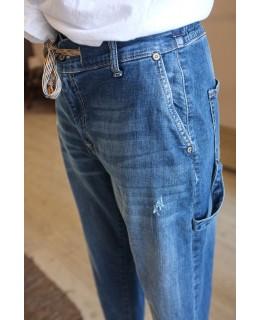 Дънки-Панталон с връзки