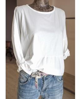 Блуза в бял цвят