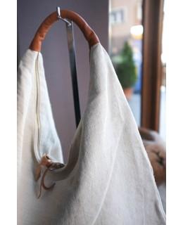 Чанта Круша в светъл беж