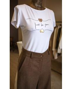 Тениска just be you.
