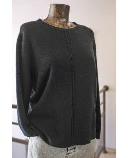 Черен Пуловер