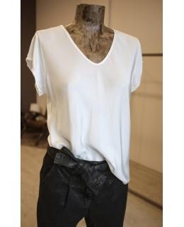 Черна Риза 3/4 ръкави