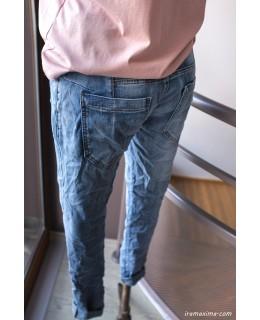 Еластични бойфренд дънки, последни L