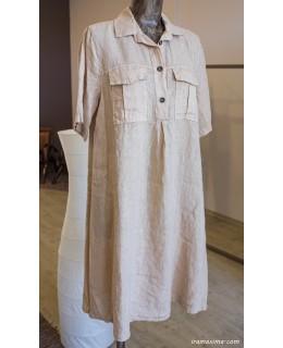 Риза-Рокля 100% лен
