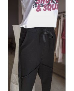 Панталони Черен Анцуг